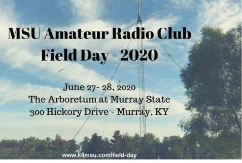 Amateur Radio Field Day 2020